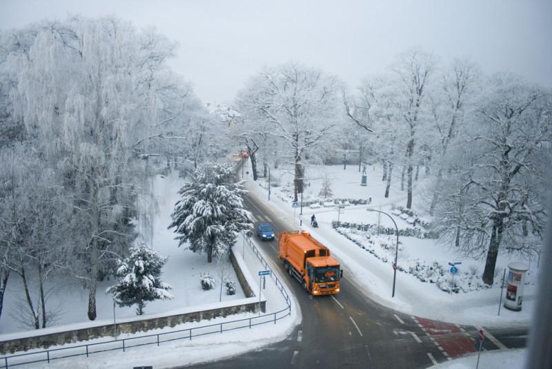 Schneeabfuhr