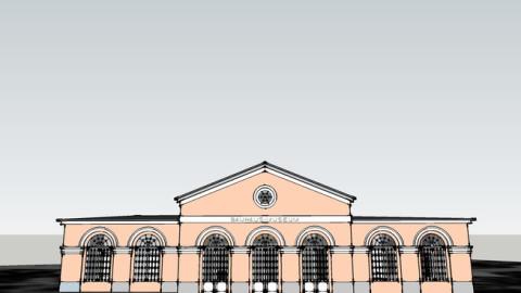 3D-Modell des Bauhaus-Museums Weimar