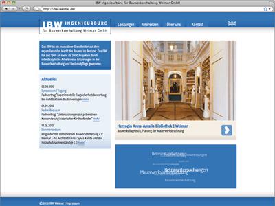 IBW — Ingenieurbüro für Bauwerkserhaltung Weimar GmbH