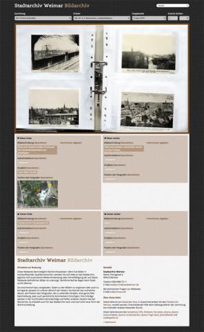 Stadtarchiv Weimar · Bildarchiv