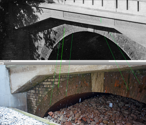 Schäden am Mauerwerk des Asbachviadukts, Weimar