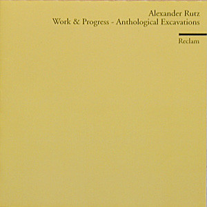 Work And Progress—Anthological Excavations 1995–1998 album cover