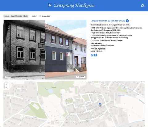 Zeitsprung Hardegsen Website